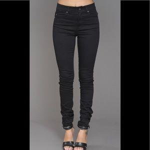Tripp NYC black skinny leggings